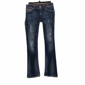 Rock Revival penny boot jeans. Size 24